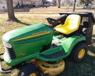 John Deere riding lawn mower - Model LT 180