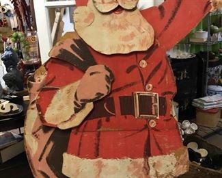 1950's department store Santa. Life sized.