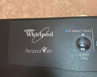 SAVE TIME AND MONEY! WHIRLPOOL PERSONAL VALET-HOME DRY CLEANING MACHINE!!!