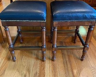 PAIR OF BLACK FRONGATE STOOLS! YIPPEE!