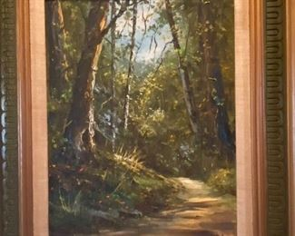 WOODLAND PATH PAINTING