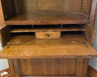 SHOWN HERE AS DESK