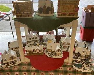 Thomas Kinkade Christmas Village