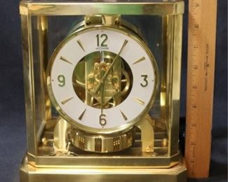 1 - Le Couture Swiss Brass Mantle Clock