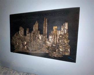 City Scape signed  $550