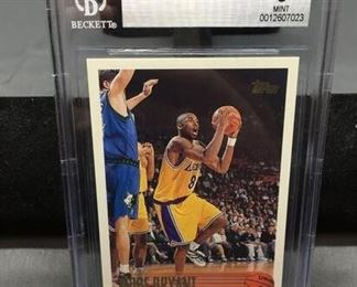 BGS Graded 1996-97 Topps #138 KOBE BRYANT Lakers ROOKIE Basketball Card - MINT 9