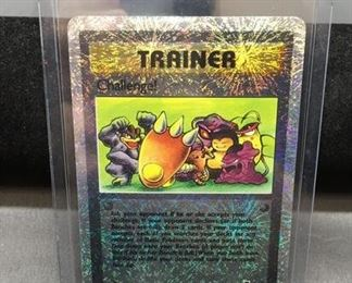 2002 Pokémon Legendary Collection Reverse Holofoil #106 CHALLENGE! Trading Card