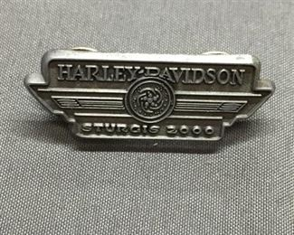 Vintage 2000 Sturgis Harley Davidson Motorcycle Rally Pin from Estate