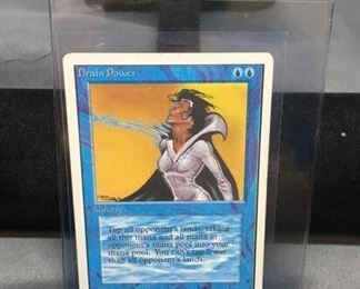 Drain Power Unlimited MTG Magic The Gathering Trading Card