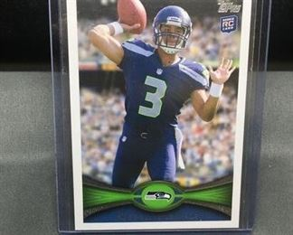2012 Topps #165 RUSSELL WILSON Seahawks ROOKIE Football Card