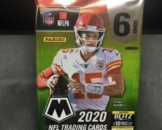 Factory Sealed 2020 Panini Mosaic Football 6 Card Pack - Joe Burrow Rookie?