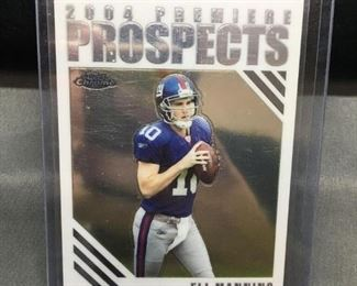 2004 Topps Chrome Premiere Prospects ELI MANNING Giants ROOKIE Football Card
