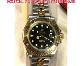 Lot 11 ROLEX Tudor Stainless Steel Watch. Princess Oyster Date