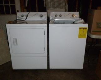 Speed Queen Commercial Grade Washer & Electric Dryer (literally lightly used by a 'little old lady'