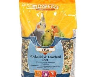 Vita Cockatiel & Lovebird Formula Location Plastic Shelf X