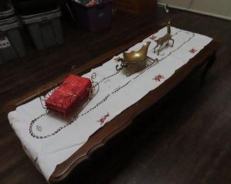 Coffee Table - Christmas Decor