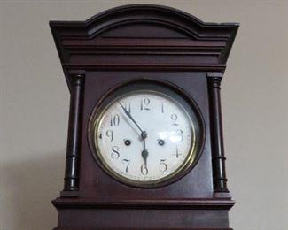 Antique Mahogany Clock