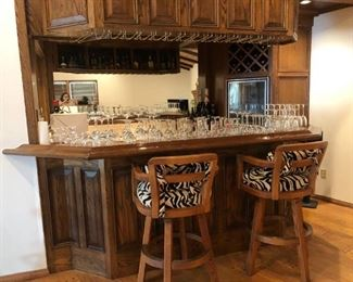 Barware and bar stools