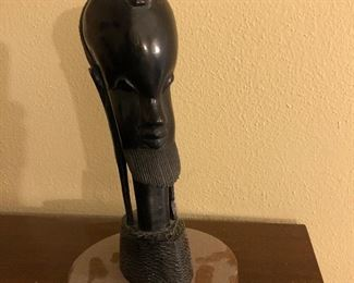 Carved ebony