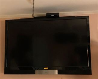 Large Vizio television. One of several