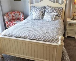 Off White Bed Frame $450.00
