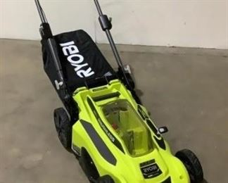 "Located in: Chattanooga, TN Condition ""Unused, Overstock"" MFG Ryobi Model RY401011VNM 20"" Cordless Mower Push Mower Brushless 40V Lithium *Includes Battery & Charger* *Sold As Is Where Is*  SKU: F-2-C Tested - Works"