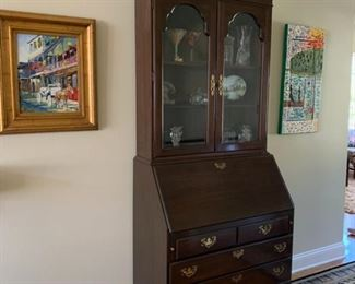 Chippendale Secretary - $275.  Text 225.316.2544 to purchase NOW prior to the in person sale on December 5th.