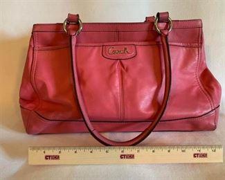 Genuine Coach Leather Handbag 1