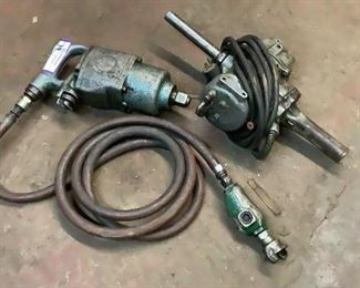 """Located in: Chattanooga, TN Off Site Pneumatic Impact wrench & Drill **Sold As-Is Where Is**  1"""" Impact Wrench  Electric Drill"""