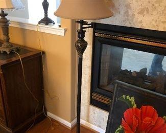 Floor lamp $30