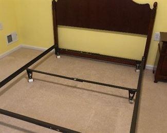 Queen bed frame $50