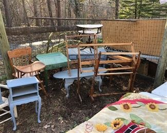 $25 per item section outside, plenty of room to spread out!