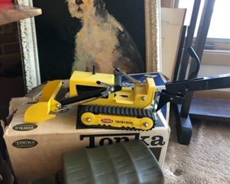 Vintage Tonka #534 Trencher with box