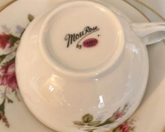 Moss Ross China set of 12 plus settings and serving pieces