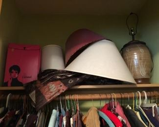 lamps, lampshades, fabric, more