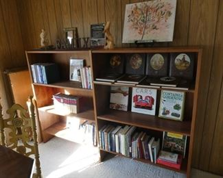 Bookcase long bookcase (has a small cutout on one lower shelf for power access) $60
