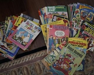 $2.00-$4.00 Comic books
