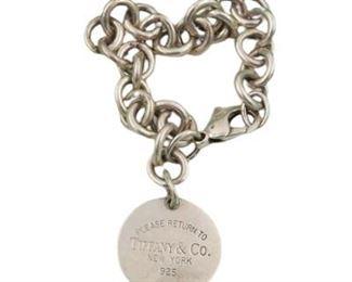 Lot 069 Tiffany and Co. Silver bracelet