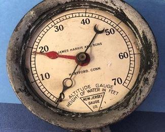 $20!  End of sale price. Antique Altitude gauge