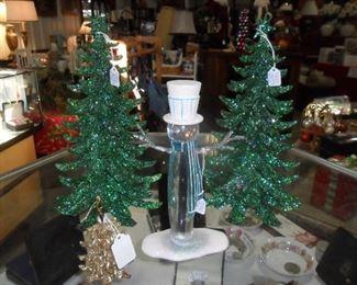 Fabulous Glass Christmas Trees