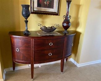 Unique rounded buffet