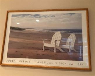 multiple framed prints