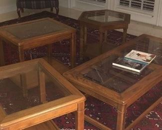 coffee, end tables