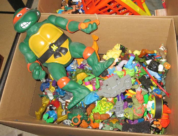 Ninja Turtles.....A LOT