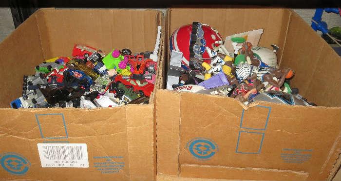 Hundreds of Wrestler Figurines
