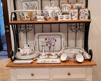 Large Bakers Rack, Portmeirion pottery