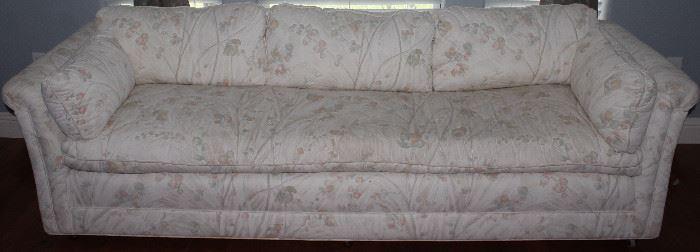 Floral Brocade Down/feather Pillow Cushion Sofa
