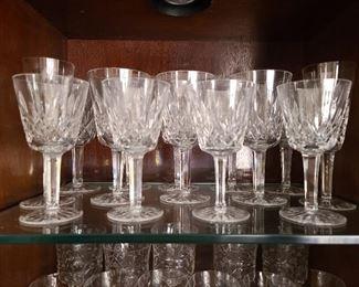 Waterford Crystal Stemmed Glasses (Lismore?)