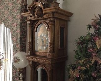 Exquisite  Gazo Family Clock Factory, San Franciscan model Grandfather clock.