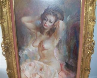 Available for pre sale, 714 499 4199. Julian Ritter, 36 x 24, oil on masonite.
